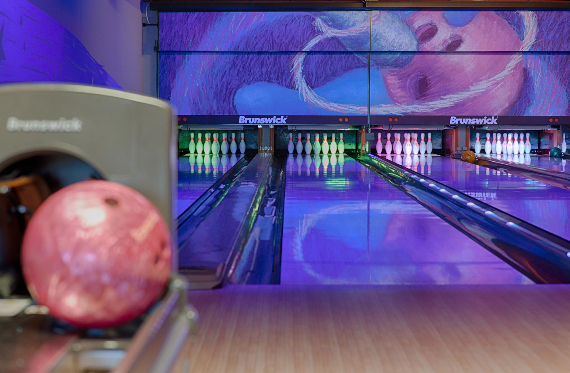 Bowling im Haffhus