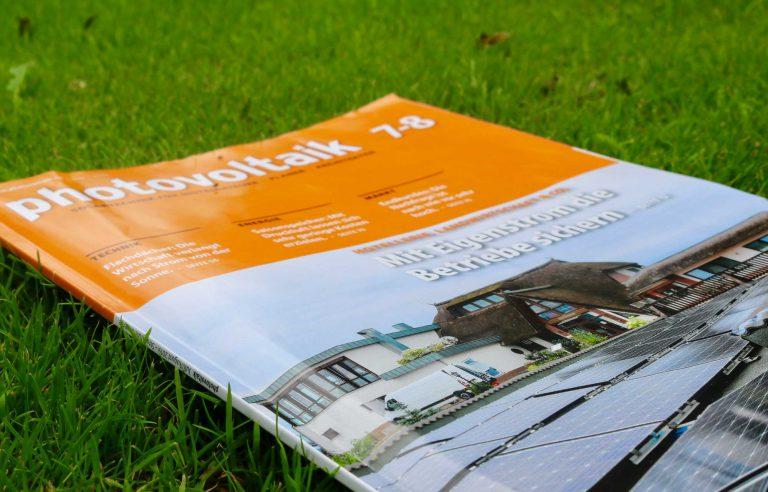 """Die Fachzeitschrift """"Photovoltaik"""" über das Haffhus"""