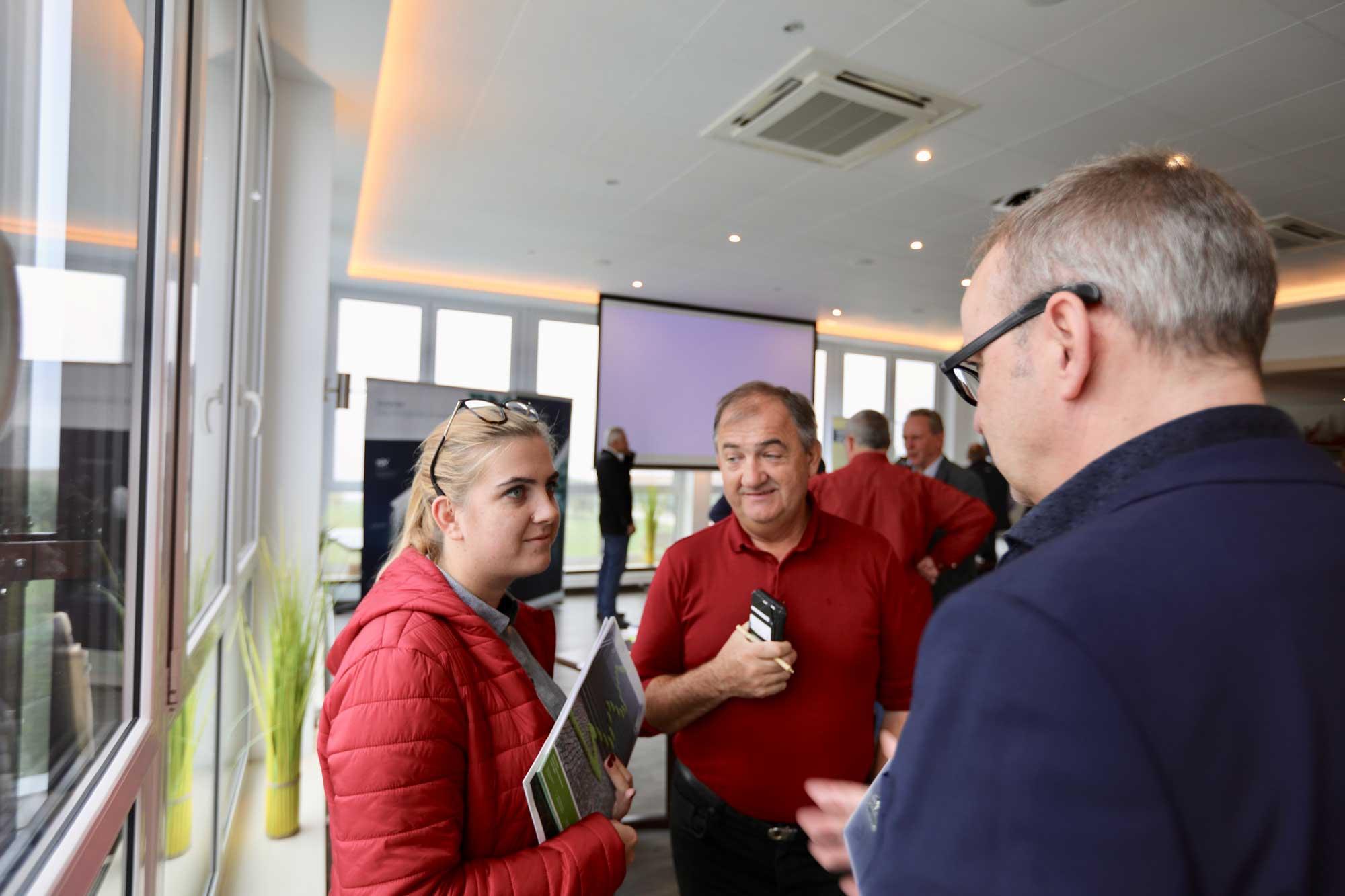 Armin Wolf von Greensign im Gespräch mit Ivan und Katarina Hriba aus Slowenien