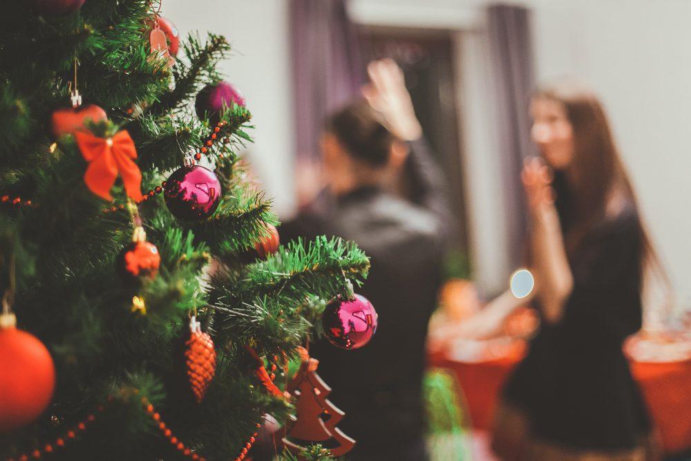 Weihnachtsfeier im Haffhus